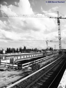 Regional-Ringbahnsteig im Bau