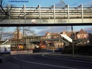 Kabelbrücke über den Markgrafendamm
