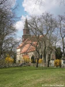 Wollin (Uecker-Randow), Dorfkirche, aufgenommen am 16.04.2011