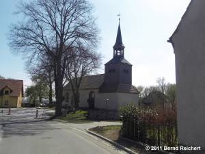 Kirche von Mescherin, aufgenommen am 18.04.2011