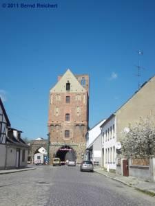 Stettiner Tor in Gartz (Oder), aufgenommen am 18.04.2011