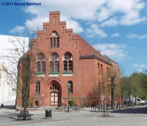 Amtsgericht, Schwedt (Oder), aufgenommen am 18.04.2011