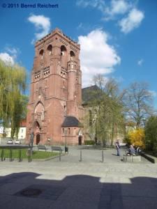 Evangelische Stadtpfarrkirche St. Katharinen, Schwedt (Oder), aufgenommen am 18.04.2011