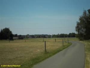 Rückblick nach Neu-Hartmannsdorf