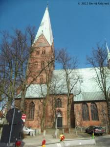 20120406-19 - Lübeck, Vorderteil der St.-Aegidien-Kirche