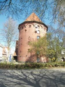 """20120406-24 - Lübeck, Wehrturm """"An der Mauer""""/""""Rehderbrücke"""""""