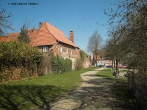 """20120406-25 - Lübeck, Reste der alten Stadtbefestigung an der """"Wakenitzmauer"""""""