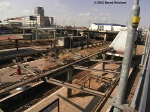 20120412-07 - Blick auf den Bahnhof Warschauer Straße von der Fußgängerbrücke aus