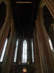 20120428-14 - Prenzlau, St.-Marien-Kirche, Blick zur Hallendecke