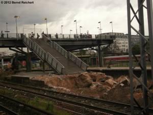 20120511-02 - Warschauer Straße, Blick vom ehemaligen Erkner-Bahnsteig nach Nordwest