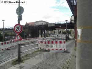 20120715-02 - Unterführung der Karlshorster Straße unter die Wriezener Bahn