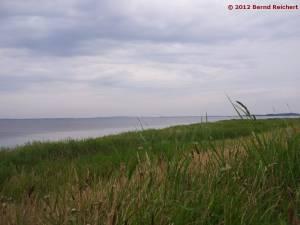 20120805-07 - Blick von Ummanz zum Dornbusch (Hiddensee)