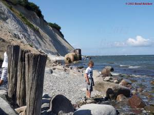 20120809-134709 - Strandabschnitt am Kap Arkona, Unglückstelle vom Dezember 2011