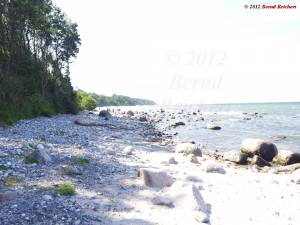 20120809-142202 - Auf den Strand hinabgestiegen ...
