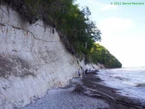 20120814-10 - Stubbenkammer: Strandabschnitt unterhalb des Königsstuhls