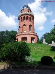 20120817-01 - Bergen / Rügen: Ernst-Moritz-Arndt-Turm auf dem Rugard