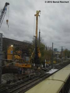 20121103-03 - Erdbohrarbeiten neben dem Markgrafendamm