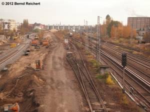 20121110-08 - Blick von der Modersohnbrücke aus in Richtung Ostkreuz