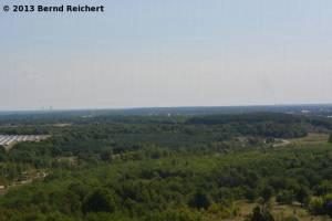 20130815-15 - Blick nach Osten, Kraftwerk Schwarze Pumpe (links) und Boxberg
