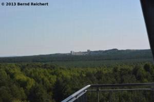 20130816-04 - Blick vom Aussichtsturm bei Großkoschen über den Senftenberger See in Richtung zum Steinbruch Großkoschen