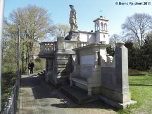 Borussia-Monument in Wannsee, Aufnahme 10.04.2011
