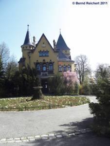 Villa Herz in Wannsee, Aufnahme 10.04.2011