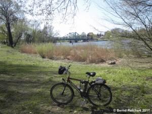 Glienicker Brücke, Aufnahme 10.04.2011