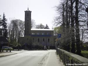 Evangelische Kirche in Caputh, Aufnahme 10.04.2011