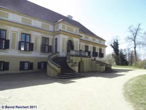 Gartentreppe am Schloss Caputh, Aufnahme 10.04.2011