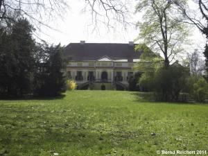 Schloss Caputh, Gartenseite, Aufnahme 10.04.2011