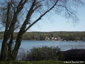 Blick über den Schwielowsee, von Ferch nach Ferch, Aufnahme 10.04.2011