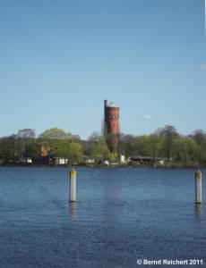 Wasserturm auf dem Hermannswerder, Aufnahme 10.04.2011