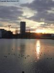 Sonnenuntergang über dem Rummelsburger See